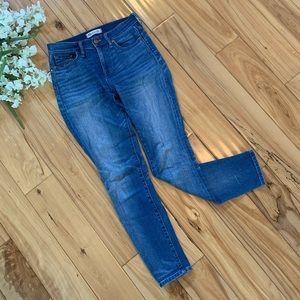 Madewell High Riser Skinny Jeans - 26 (Light wash)